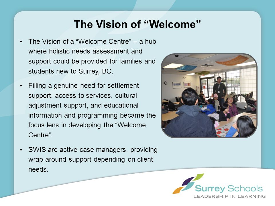 The Vision of Welcome