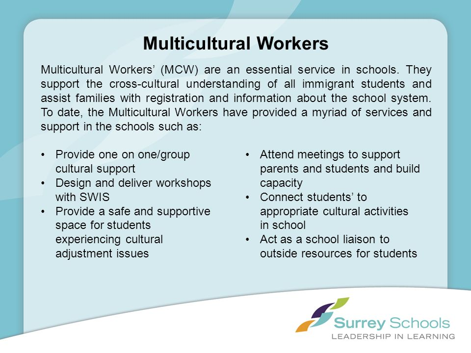 Multicultural Workers
