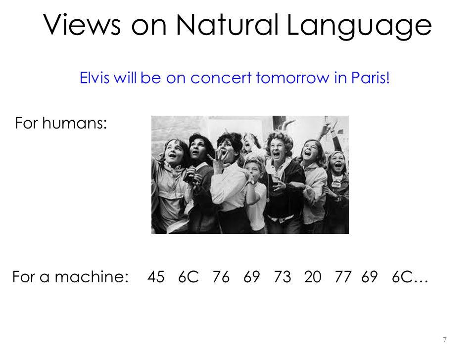 Views on Natural Language