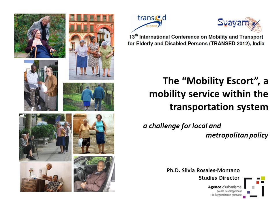 The Mobility Escort , a mobility service within the transportation system