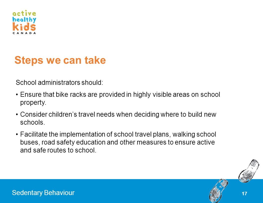 Steps we can take School administrators should: