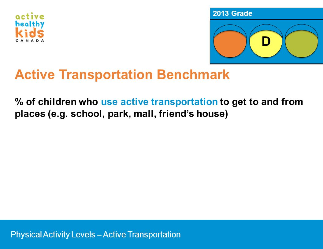Active Transportation Benchmark