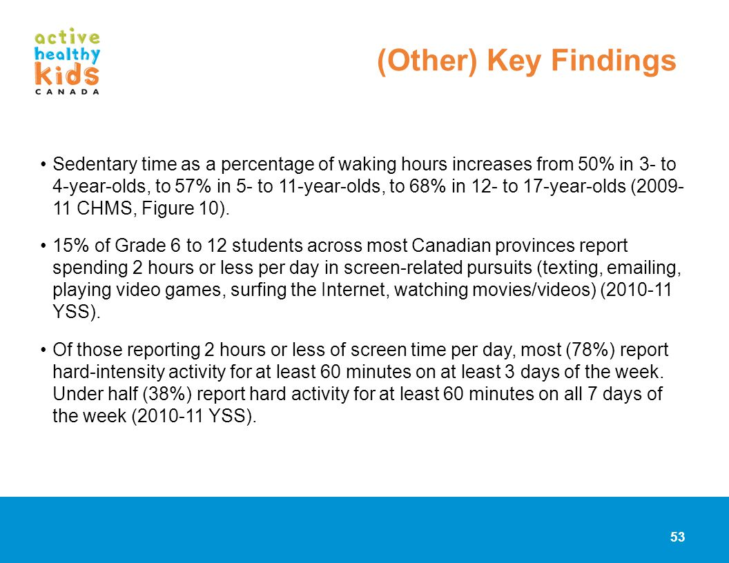 (Other) Key Findings