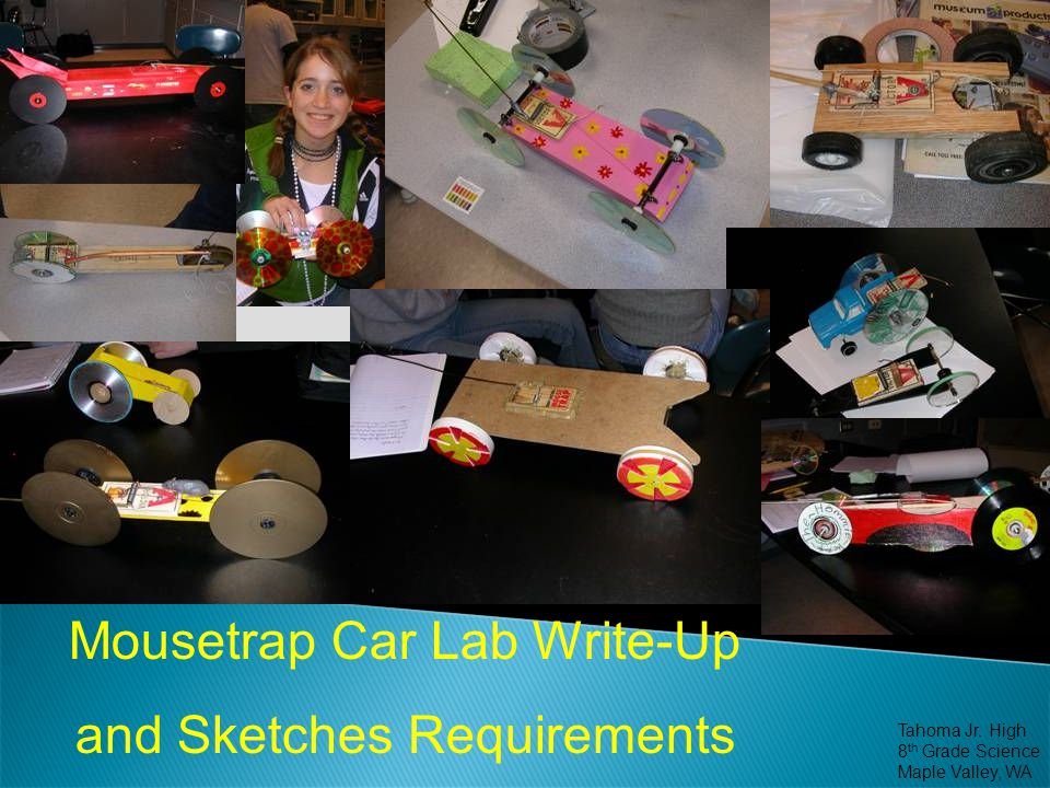 Mousetrap Car Lab Write-Up and Sketches Requirements