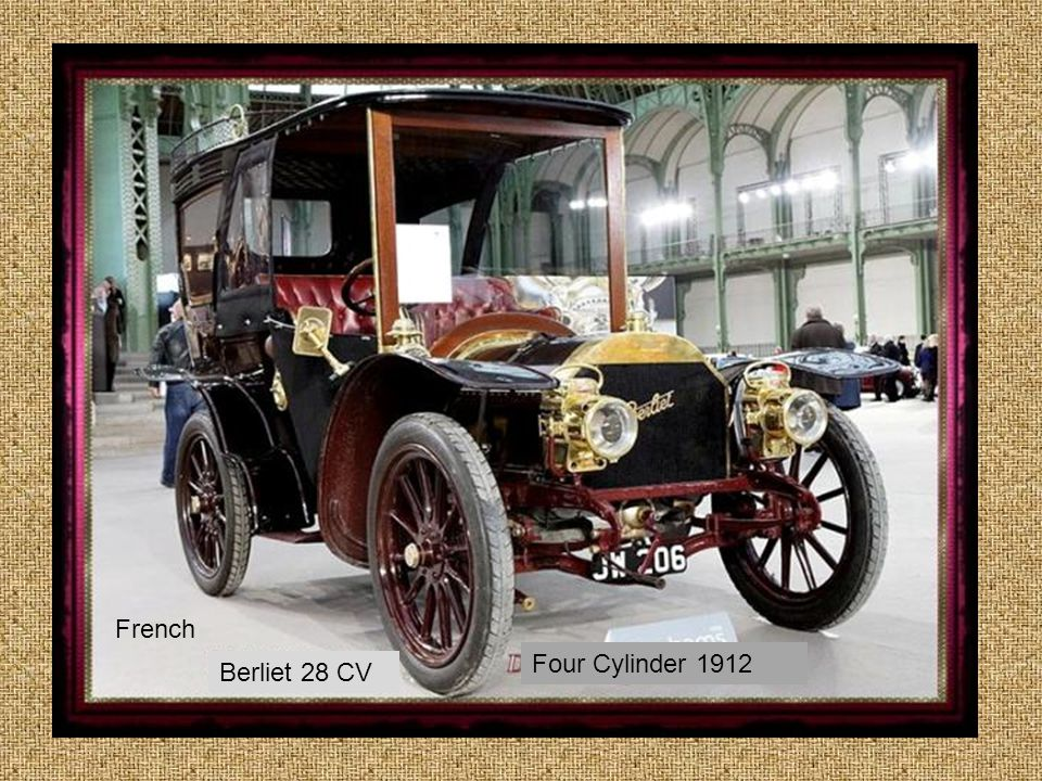 French Four Cylinder 1912 Berliet 28 CV