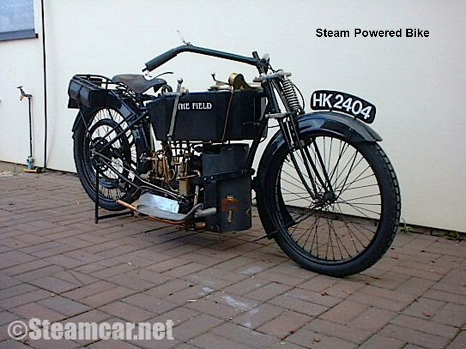 Steam Powered Bike