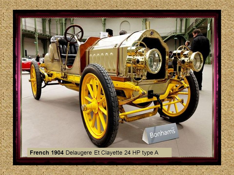 French 1904 Delaugere Et Clayette 24 HP type A
