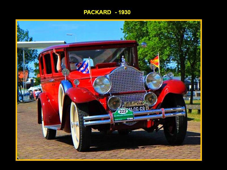 PACKARD - 1930