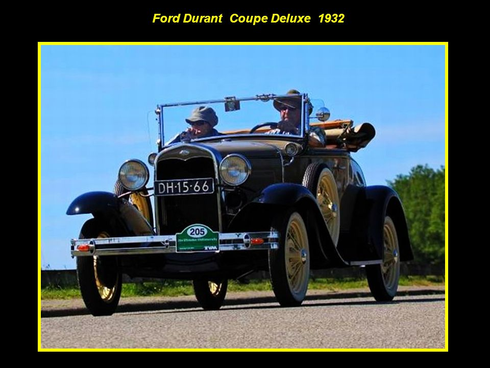 Ford Durant Coupe Deluxe 1932