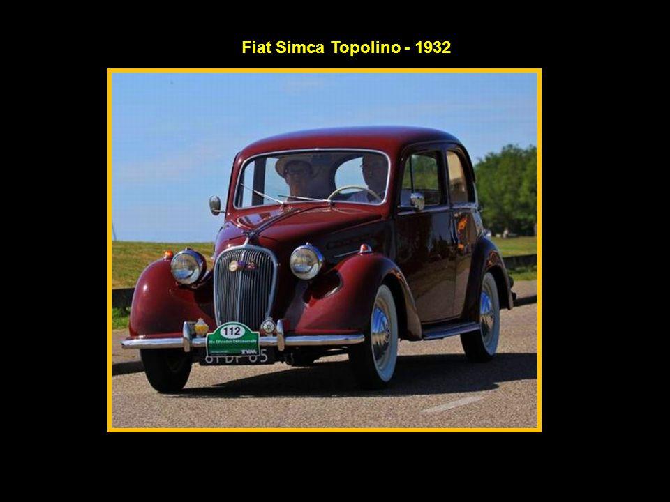 Fiat Simca Topolino - 1932
