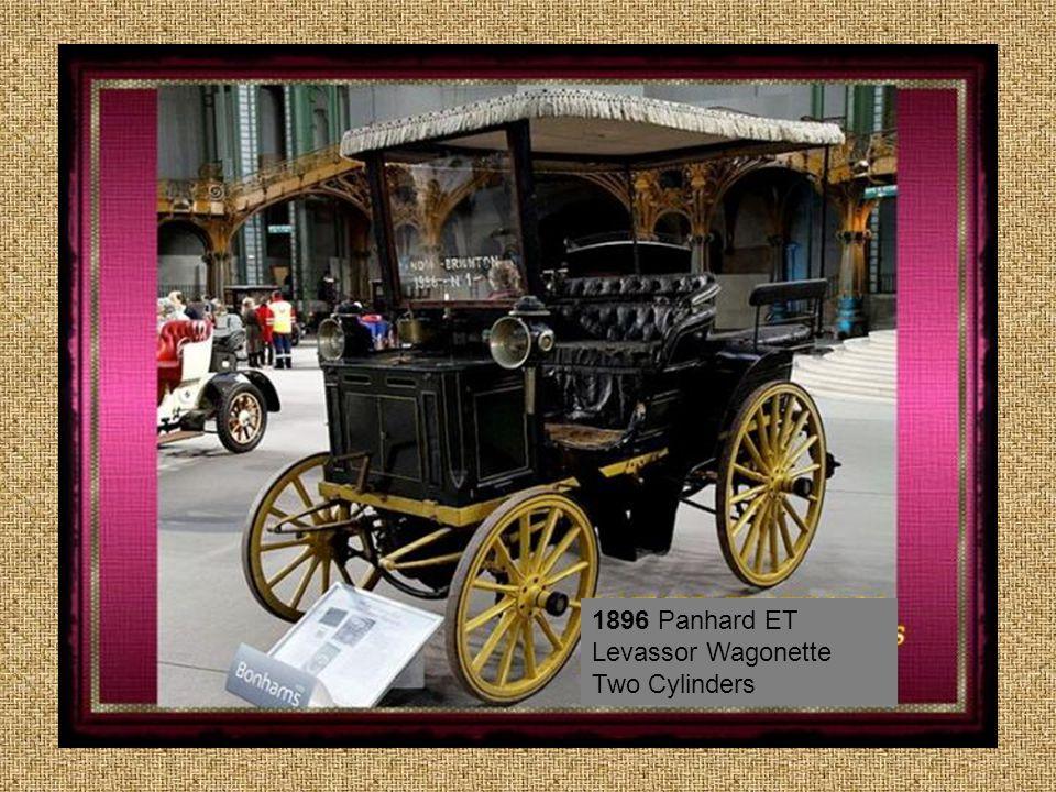 1896 Panhard ET Levassor Wagonette