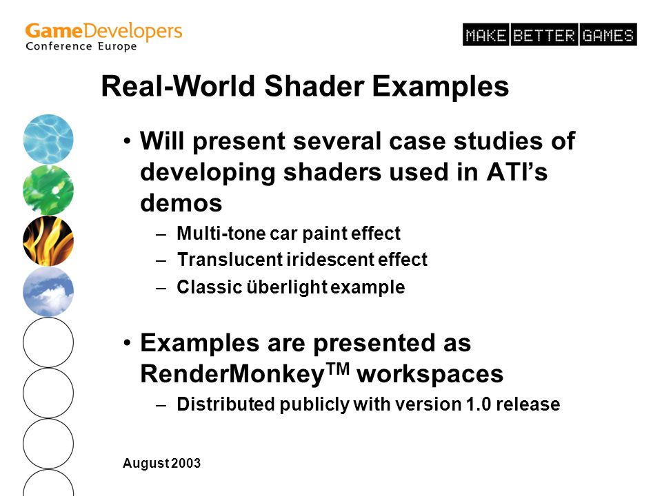 Real-World Shader Examples