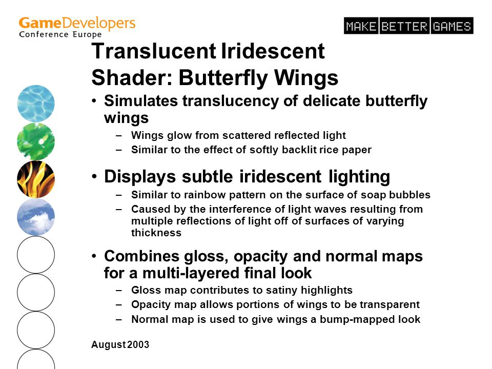 Translucent Iridescent Shader: Butterfly Wings