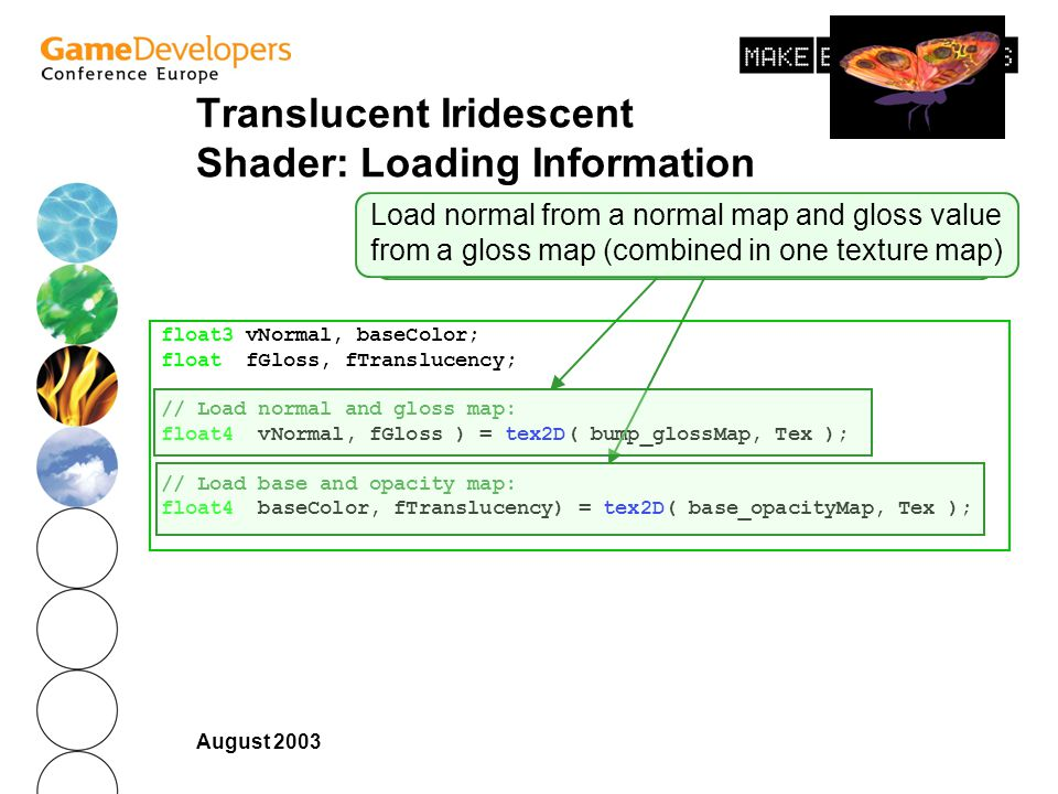 Translucent Iridescent Shader: Loading Information
