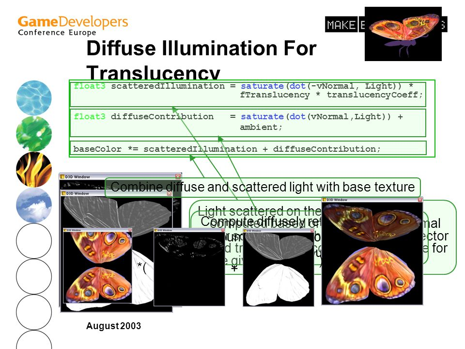 Diffuse Illumination For Translucency
