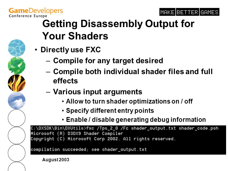 Getting Disassembly Output for Your Shaders