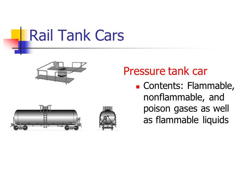 Rail Tank Cars Pressure tank car