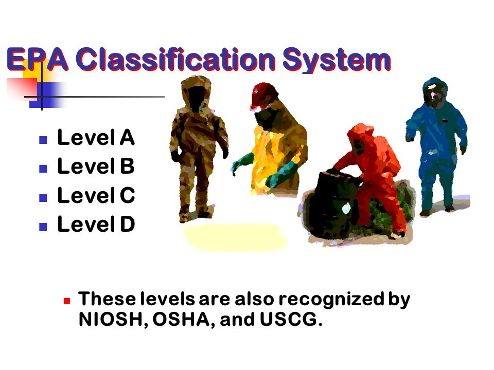 EPA Classification System