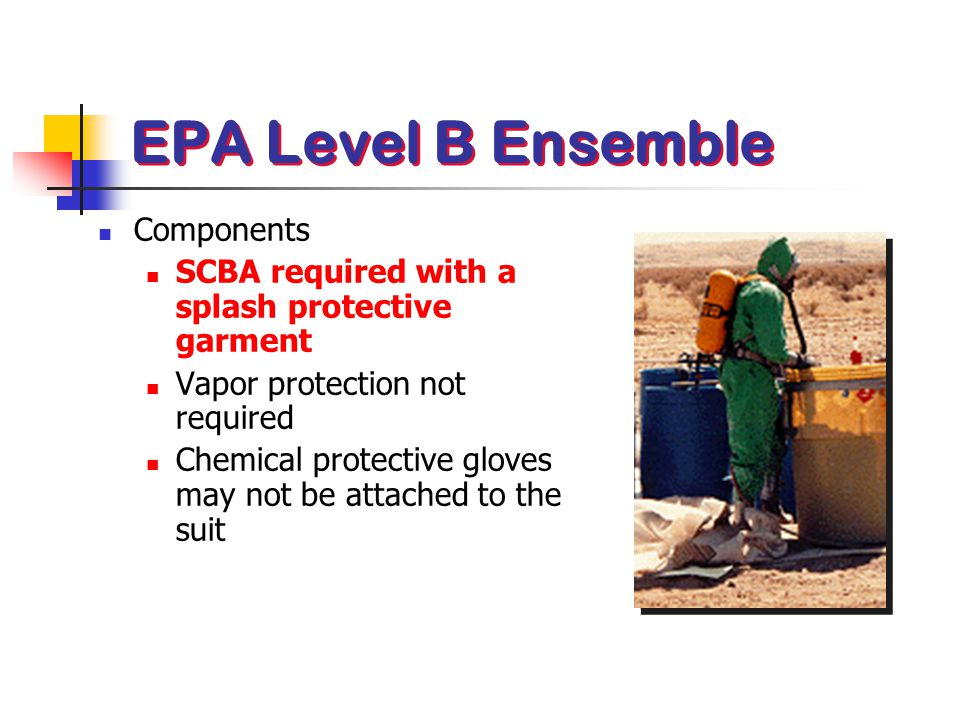 EPA Level B Ensemble Components