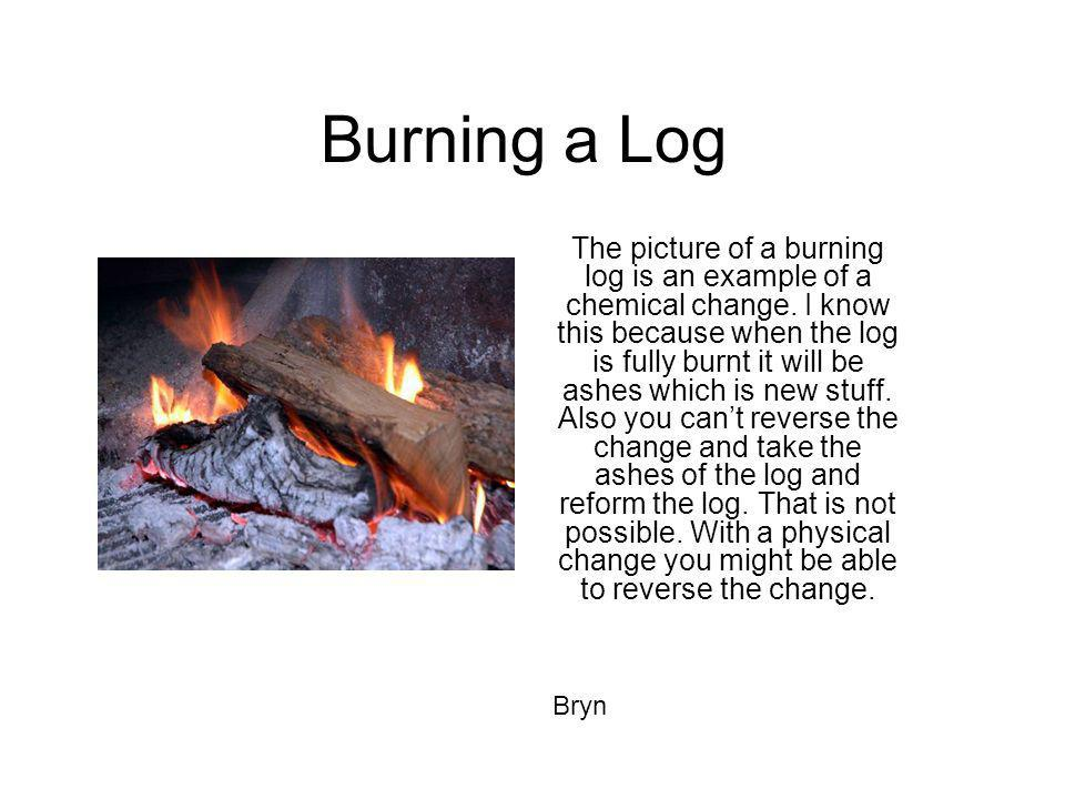 Burning a Log