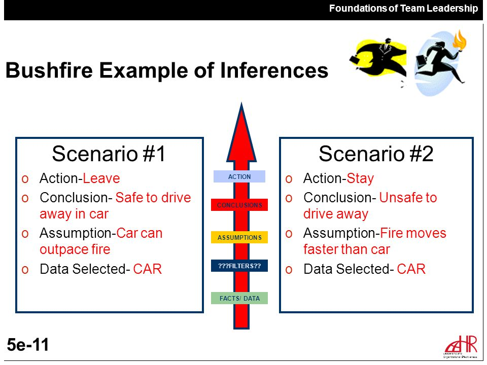 Bushfire Example of Inferences