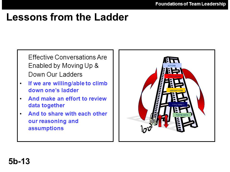 Lessons from the Ladder