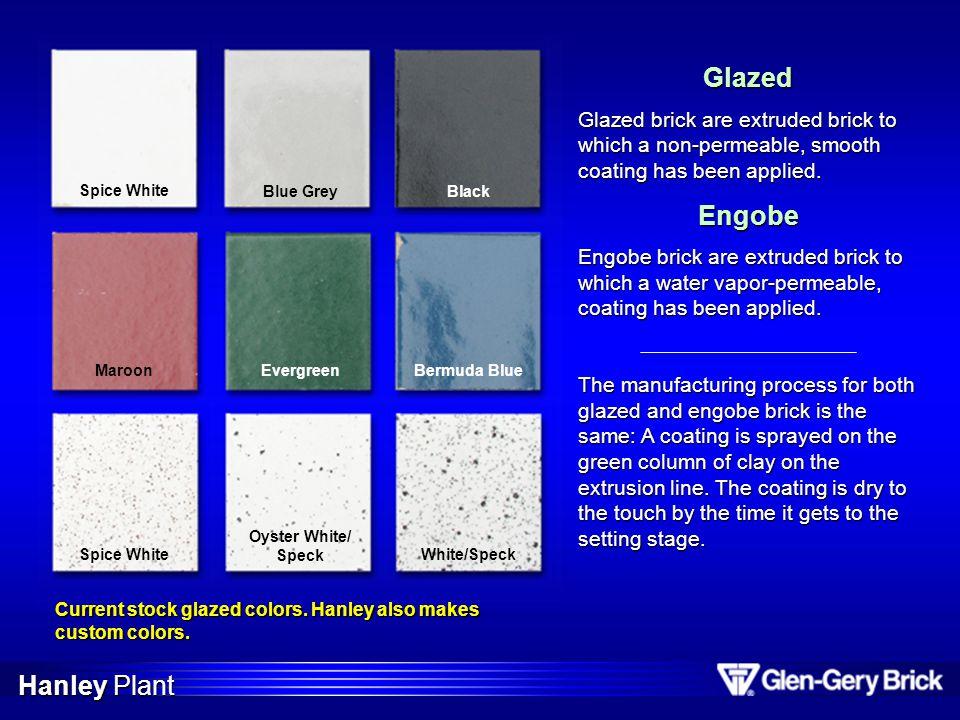 Glazed Engobe Hanley Plant
