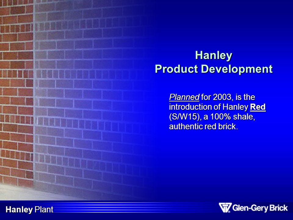 Hanley Product Development