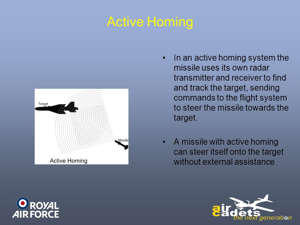Active Homing