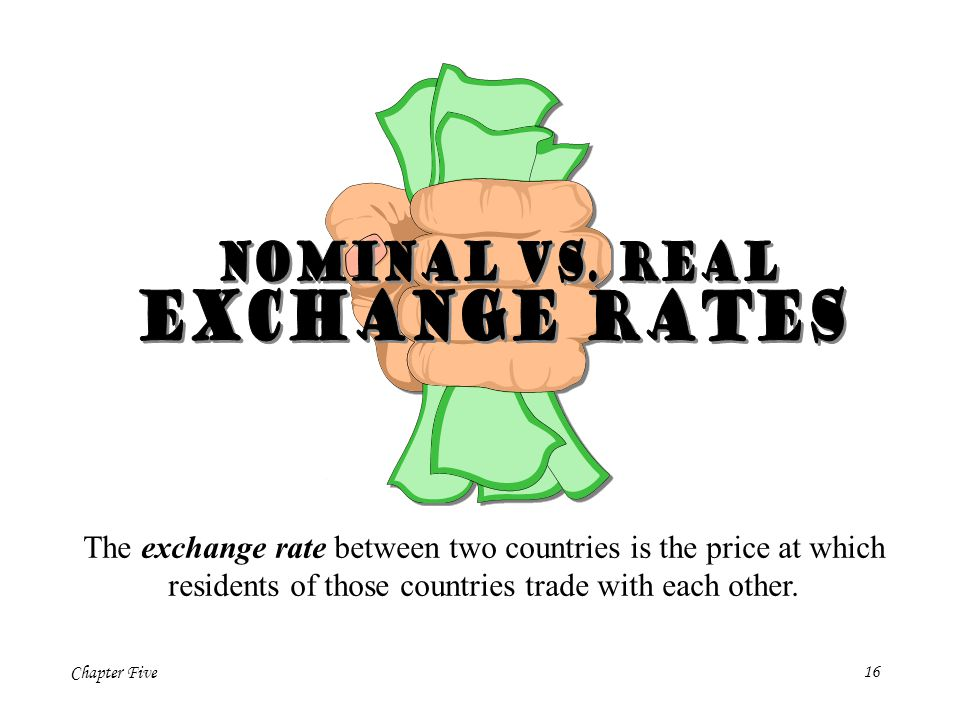 Exchange Rates Nominal vs. real