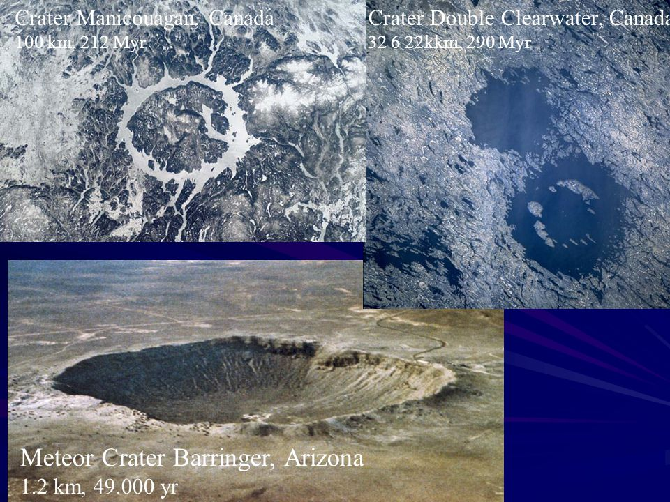 Meteor Crater Barringer, Arizona