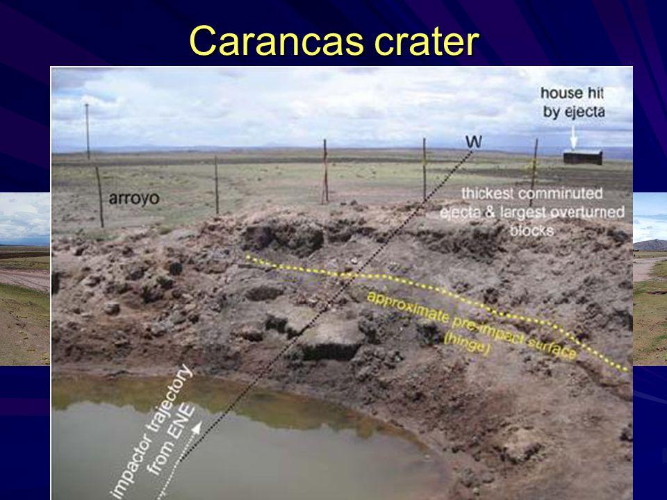 Carancas crater