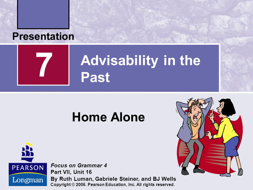 Advisability in the Past