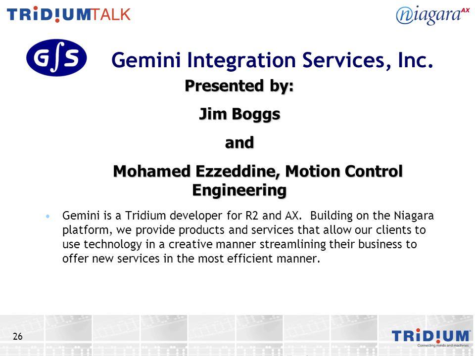Gemini Integration Services, Inc.