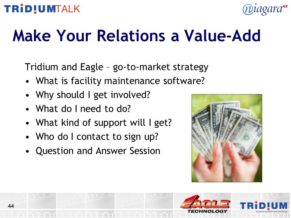 Make Your Relations a Value-Add