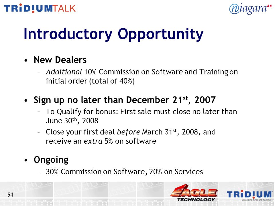 Introductory Opportunity