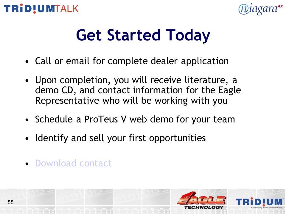 Get Started Today Call or email for complete dealer application