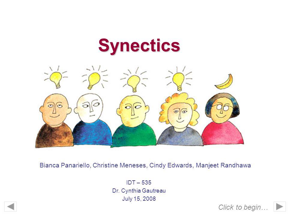 IDT – 535 Dr. Cynthia Gautreau July 15, 2008