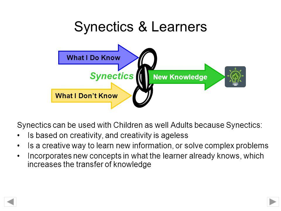 Synectics & Learners Synectics