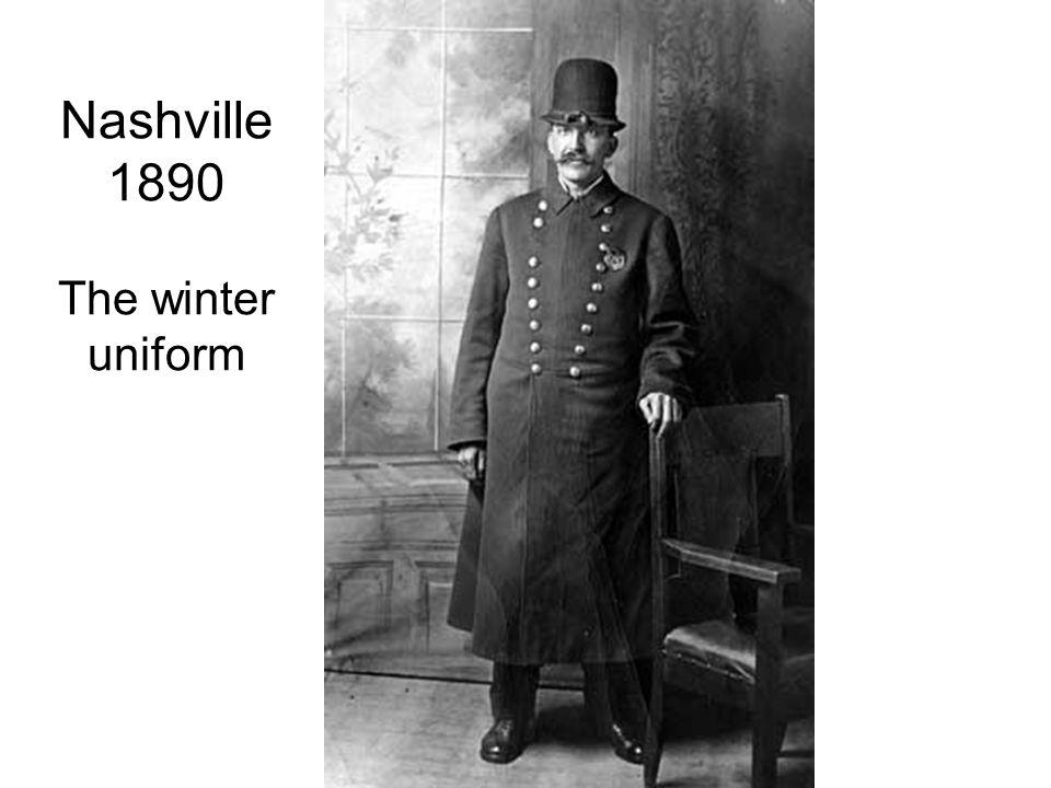 Nashville 1890 The winter uniform