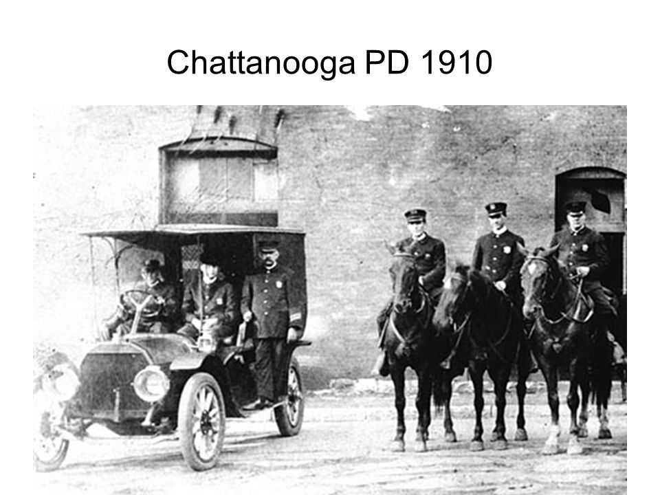Chattanooga PD 1910
