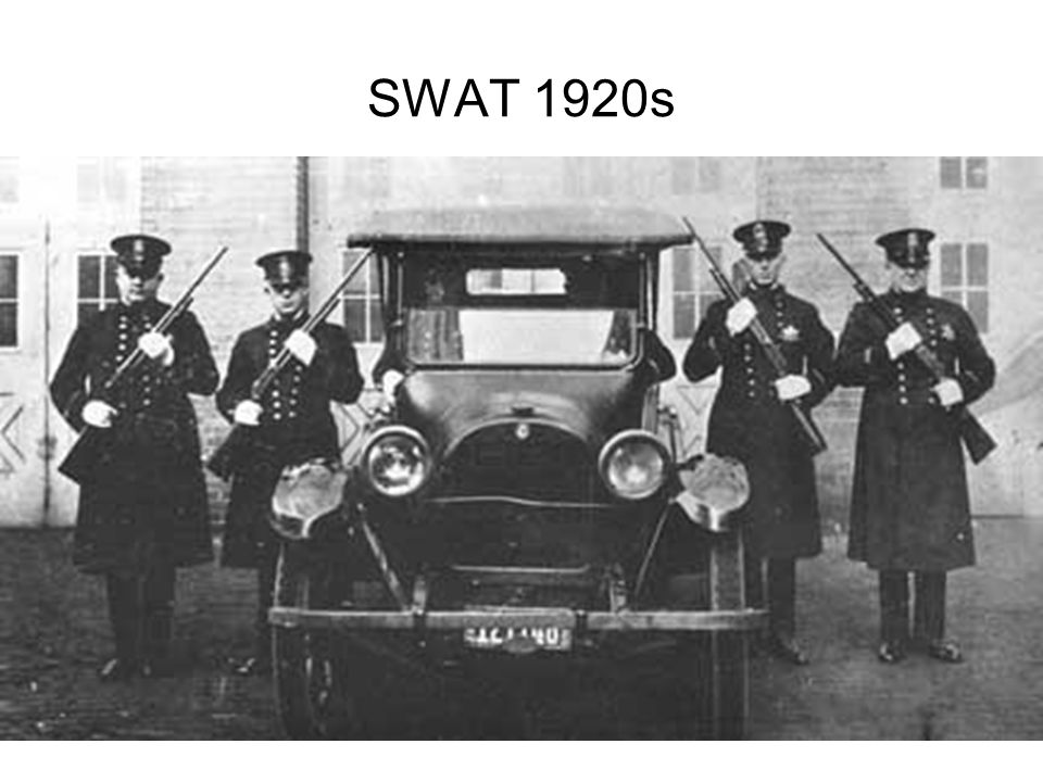 SWAT 1920s