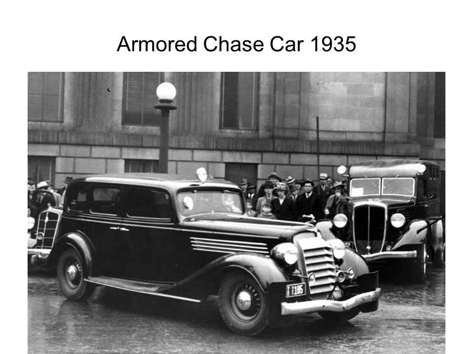 Armored Chase Car 1935