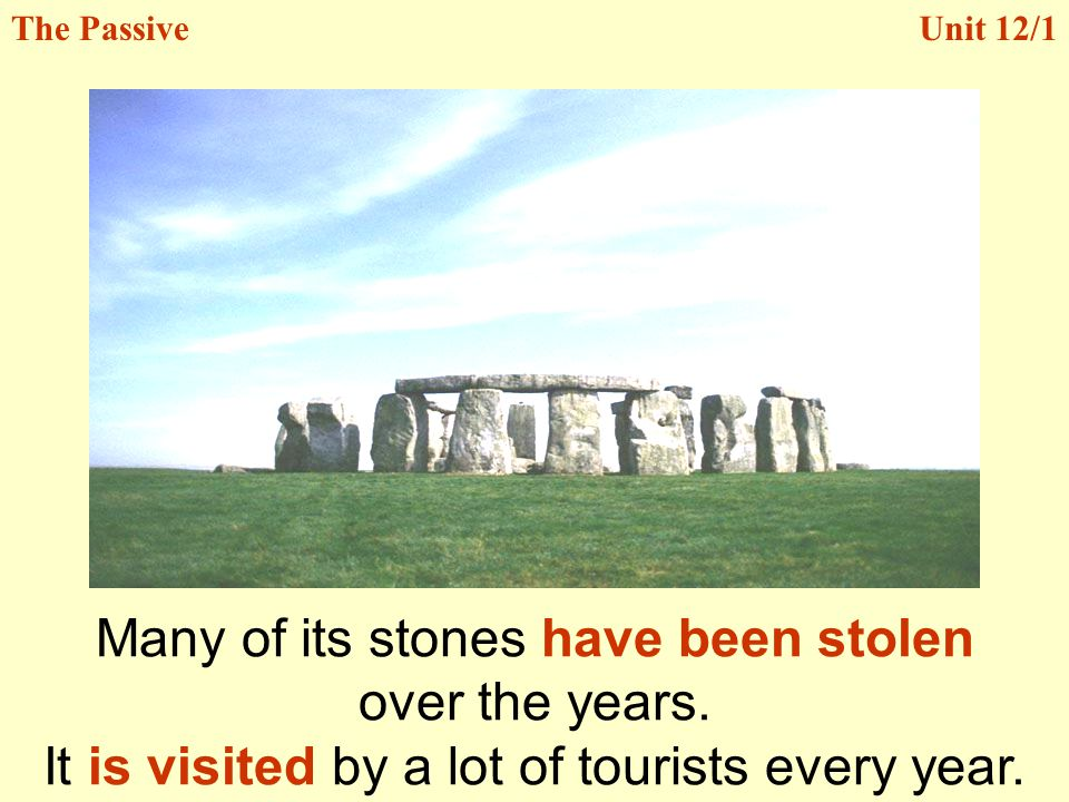 Many of its stones have been stolen over the years.
