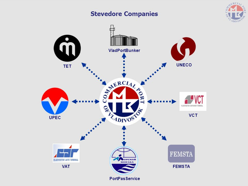 FEMSTA Stevedore Companies VladPortBunker TET UNECO VCT UPEC VAT