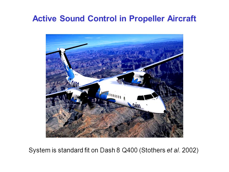 Active Sound Control in Propeller Aircraft