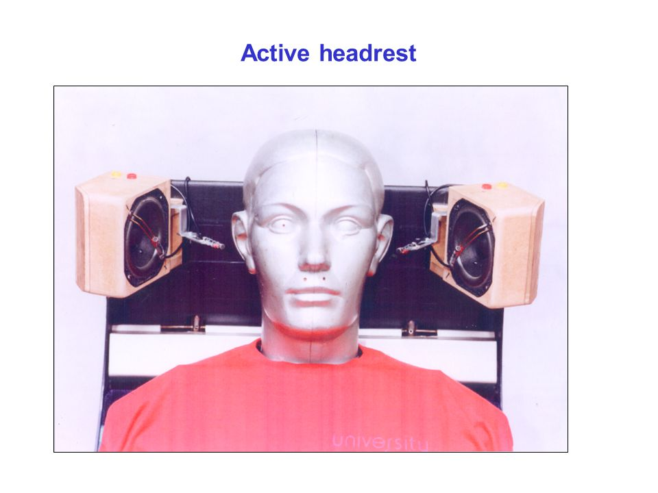 Active headrest