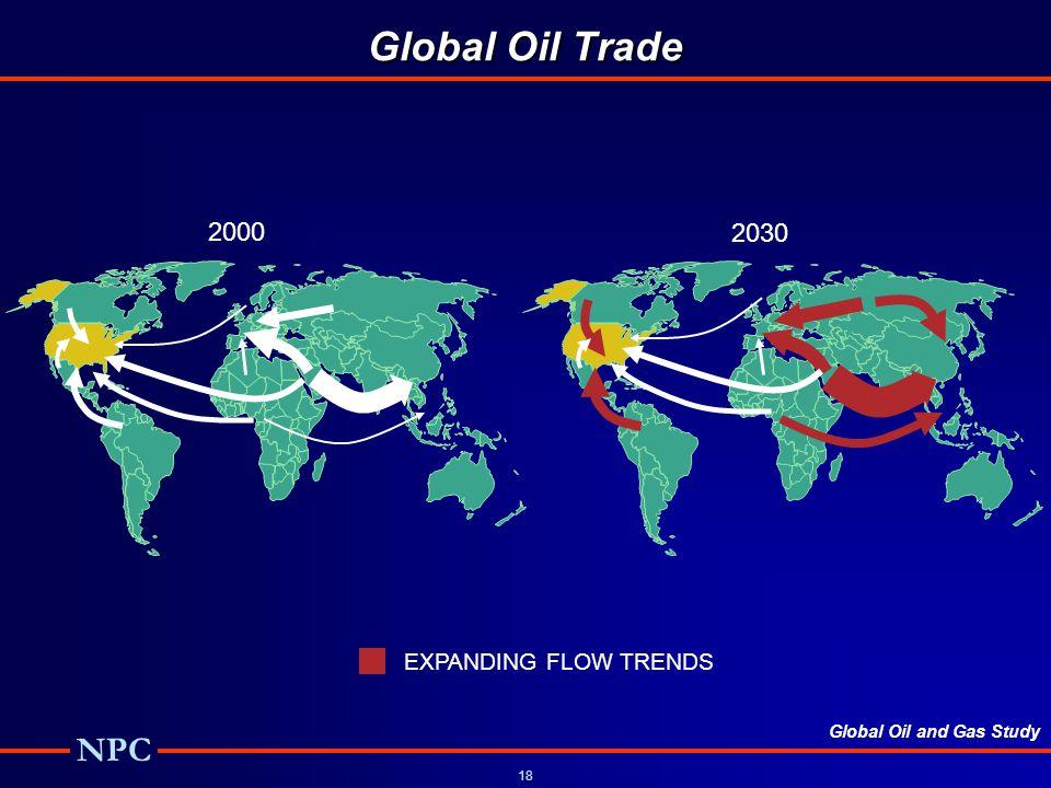 Global Oil Trade 2000 2030 Global Oil Flows