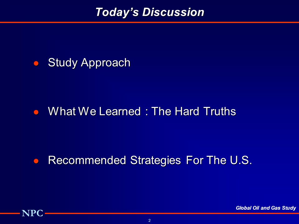 What We Learned : The Hard Truths