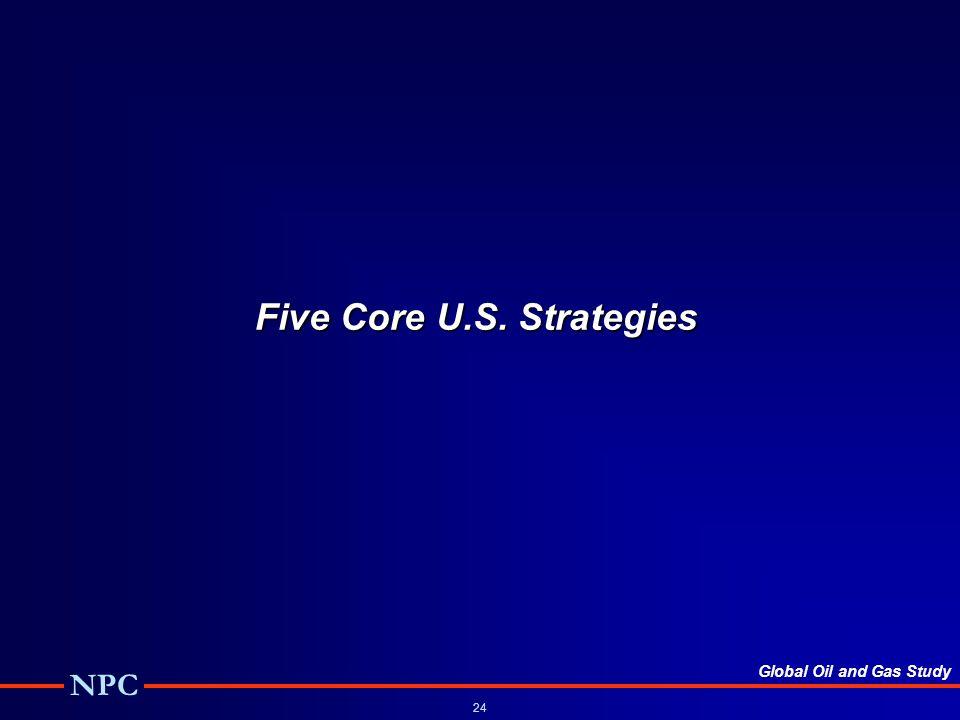 Five Core U.S. Strategies